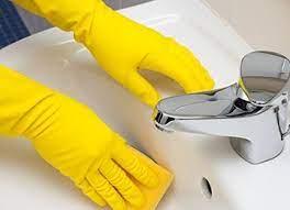 hotel bathroom cleaning procedure